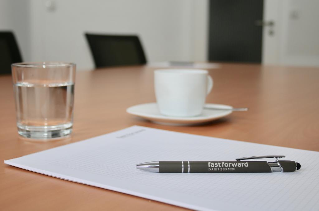 Karriereberatung fast forward Besprechungszimmer